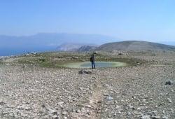 Hiking on the Island of Krk