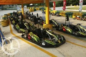 Go Kart Pula, Green Garden Pula, Tourist agency InfoMedulin, Medulin, Istria, Croatia, Race track