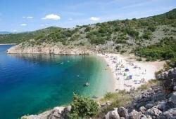 Beach Potovošće, Vrbnik