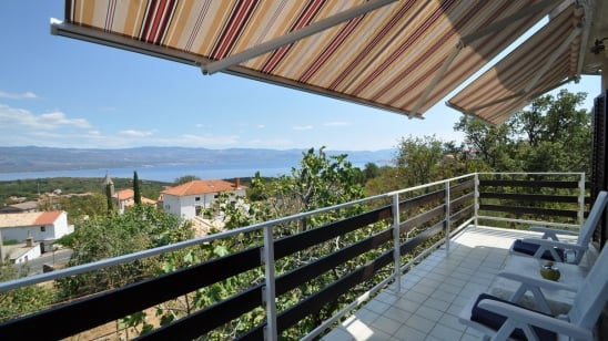 Apartment Vito with sea view – Vrbnik – Island Krk – Croatia