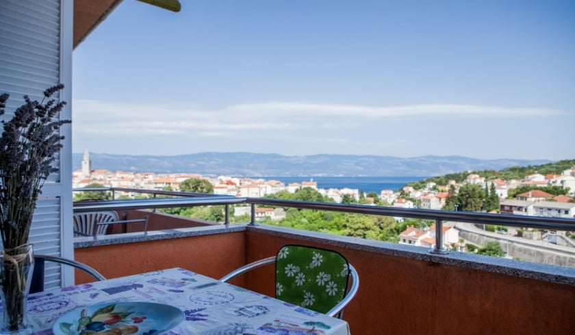 Apartment Adrijana with sea view – Vrbnik – Island Krk–Croatia