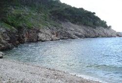 Beach Kozica, Vrbnik