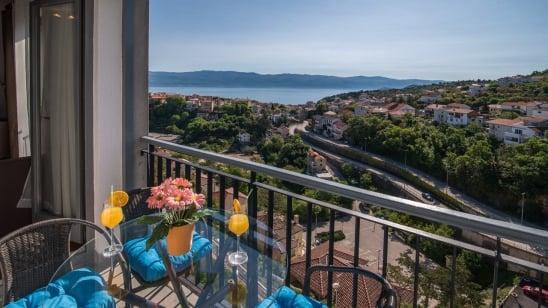 Apartment Leona with sea view – Vrbnik–Island Krk–Croatia