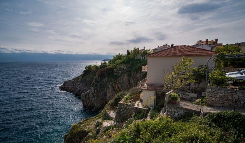 Apartment Cvita with panoramic sea view – Vrbnik – Island Krk–Croatia