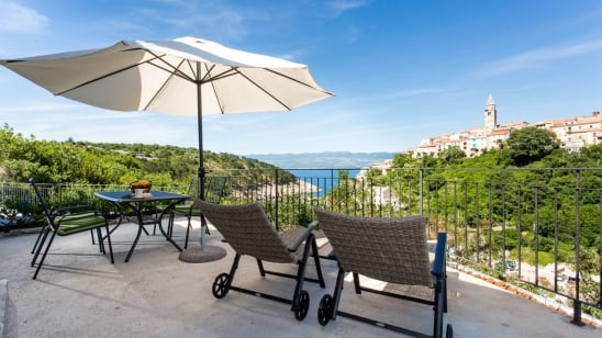 Apartment Helena 2with sea view – Vrbnik–Island Krk–Croatia