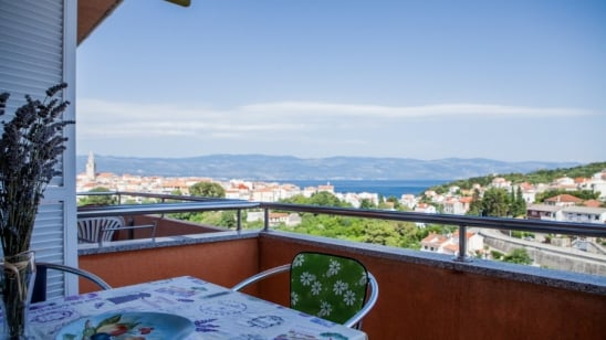 Apartment Adrijana with sea view – Vrbnik – Island Krk–Croatia