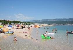 beach Konjska, Šilo