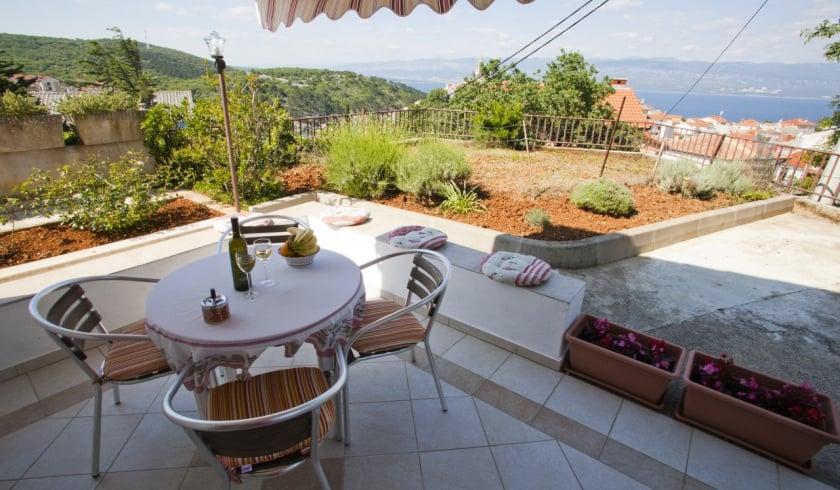 Apartment Marino 1 with sea view – Vrbnik – Island Krk – Croatia