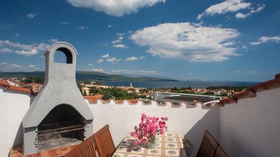 Apartment Krk 10 with sea view – Krk – Island Krk – Croatia