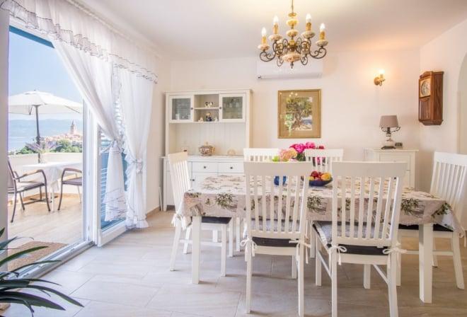 Kuća za odmor Mela s pogledom na more–Vrbnik–Otok Krk–Hrvatska