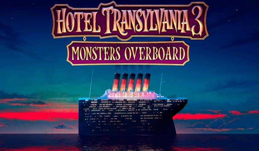 Cinema Projection Of The Animated Movie Hotel Transylvania 3 Summer Vacation