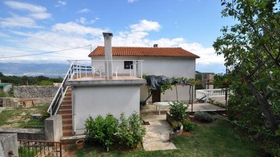Apartment Vladimir in quiet position– Risika – Island Krk – Croatia