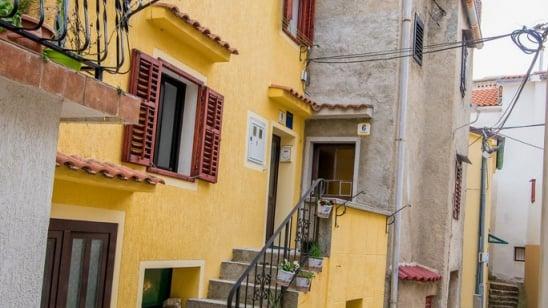 Apartment Gordana 2 in old town area – Vrbnik – Island Krk – Croatia