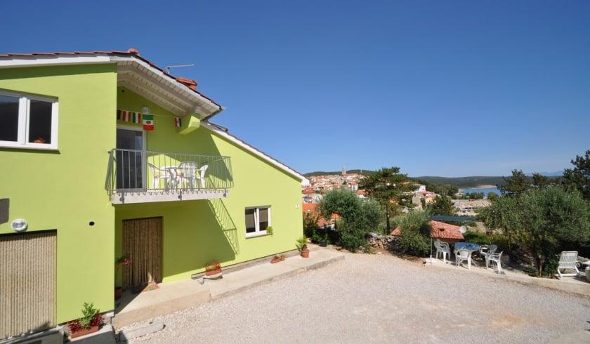 Apartment Nenad 1 with sea view – Vrbnik – Island Krk – Croatia