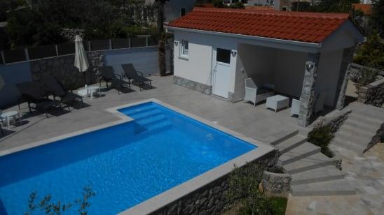 Apartment Adria 1 in village Kornić –Island Krk–Croatia