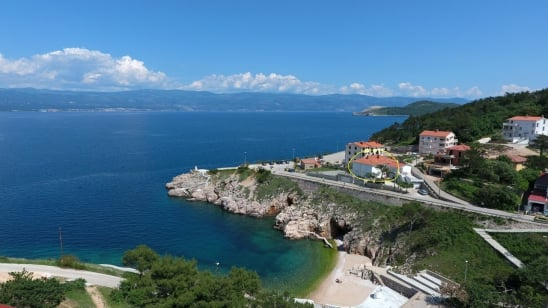 Apartment Danica 1 near beach – Vrbnik – Island Krk – Croatia