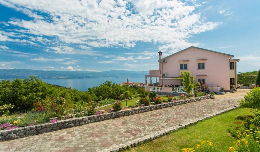 Apartment Ane 1 with panoramic sea view – Vrbnik – Island Krk – Croatia