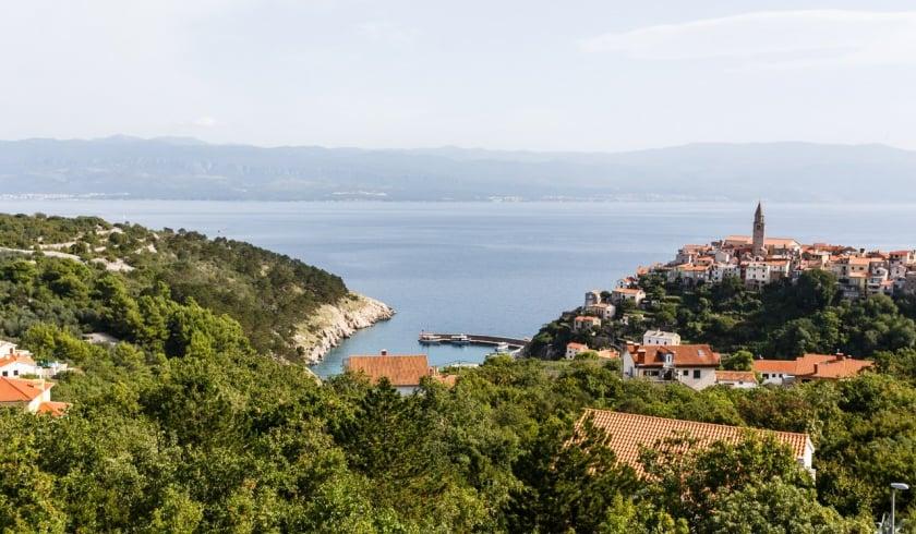 Apartment Mirna 4 with sea view – Vrbnik – Island Krk – Croatia