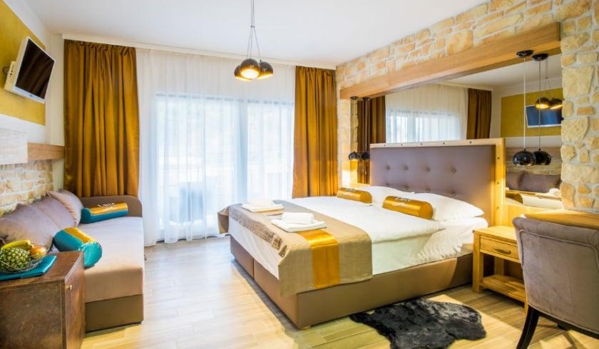 Room Gold with sea view – Vrbnik – Island Krk–Croatia