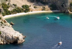 Swimming cruise - Island of Krk