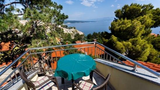 Apartment Maestral with panoramic sea view – Vrbnik–Island Krk–Croatia