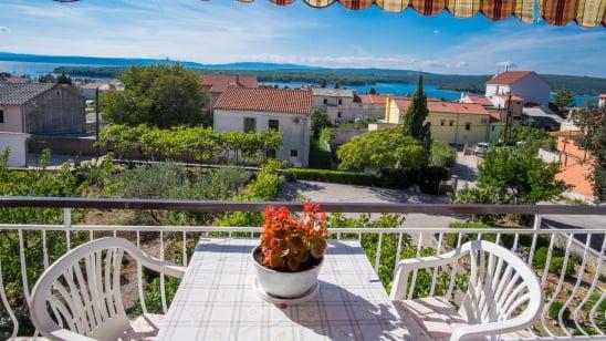 Appartamento Kate 1 con vista mare – Punat - isola di Krk – Croazia
