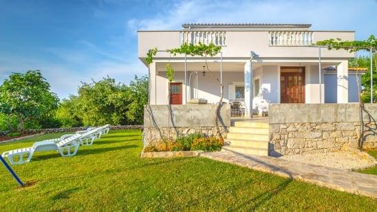 Holiday home  Oleander  with sea view – Poljica – Island Krk – Croatia