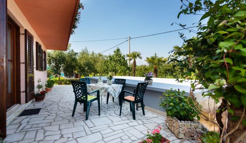 Apartment Anica 1 in village Risika – Island Krk – Croatia