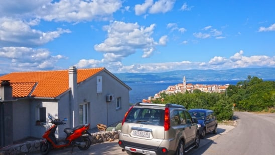 Studio Noa 2 in quiet position– Vrbnik – Island Krk – Croatia