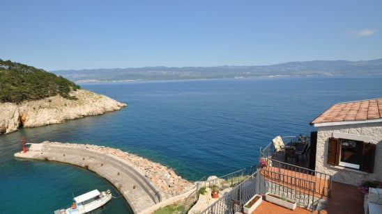 Villa Kairos with beautiful sea view – Vrbnik – Island Krk – Croatia