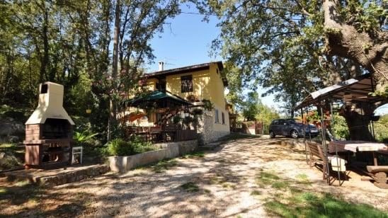 Apartment Marija 1 in quiet position– Risika – Island Krk – Croatia
