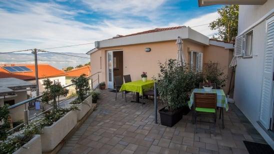 Apartment  Franciska 1 in quiet position – Vrbnik – Island Krk – Croatia
