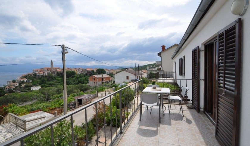 Apartment Nada 2 with sea view – Vrbnik – Island Krk – Croatia