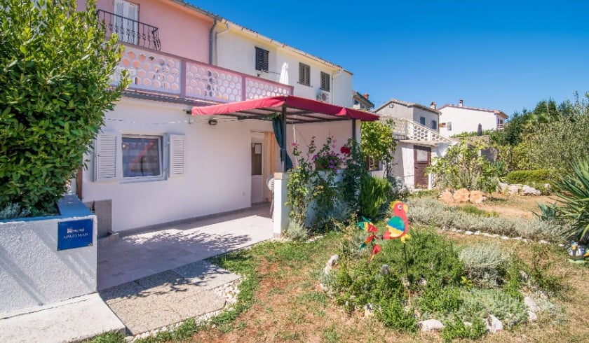 Apartment Berka in quiet position – Vrbnik – Island Krk – Croatia