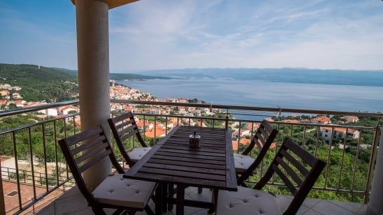 Apartment Goga with panoramic sea view – Vrbnik – Island Krk – Croatia