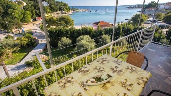Apartment Krk 6 with sea view – Krk – Island Krk – Croatia