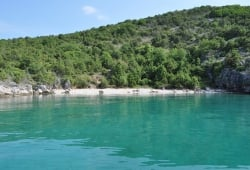 Bay St. Georg near Vrbnik
