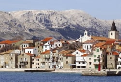 Old town of Baška