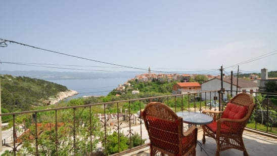 Apartment Kizi with panoramic sea view – Vrbnik – Island Krk – Croatia