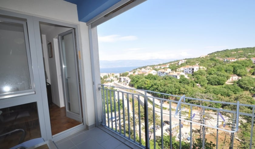 Apartment Danijel with partial sea view – Vrbnik–Island Krk–Croatia