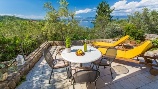 Apartment Braut with panoramic sea view - Vrbnik - Island Krk -Croatia