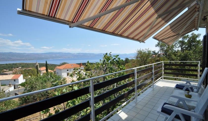 Apartment Vito with sea view – Vrbnik – Island Krk – Croatia