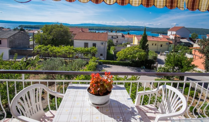 Apartment Kate 1 with sea view – Punat – Island Krk – Croatia
