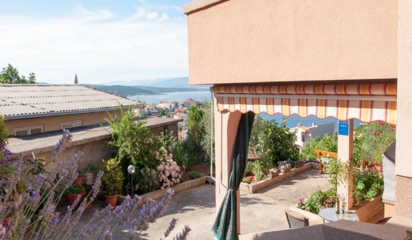Studio Balara 2 with sea view – Vrbnik–Island Krk-Croatia