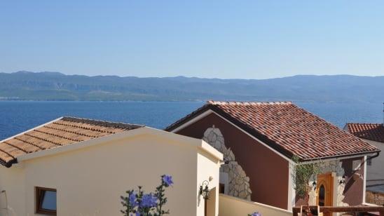 Villa Nautilus mit Panorama Meerblick –Vrbnik – Insel Krk – Kroatien