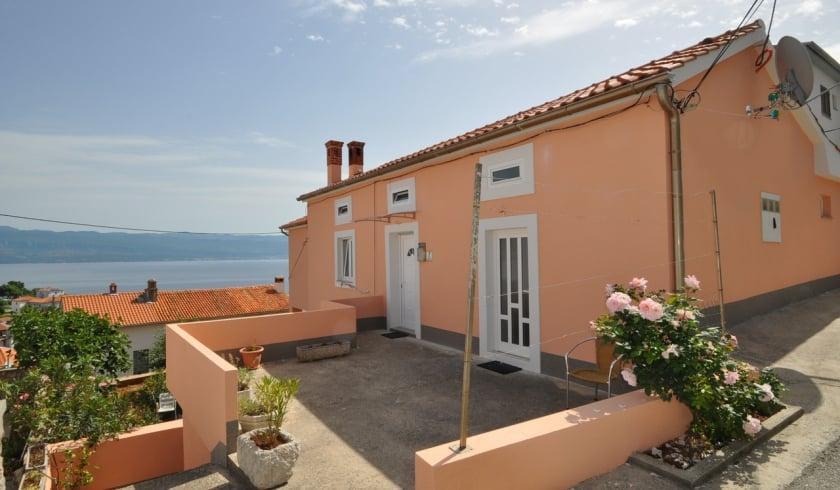 Apartment Ildi 1 with sea view – Vrbnik – Island Krk – Croatia