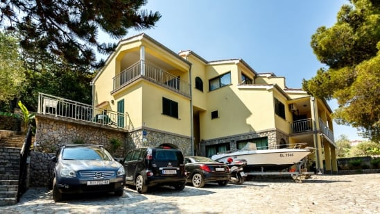 Apartment Maestral 2 with panoramic sea view – Vrbnik–Island Krk–Croatia