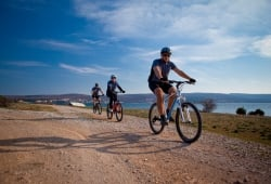 Cycling on the Island of Krk