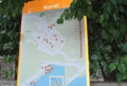 Village map Kornić