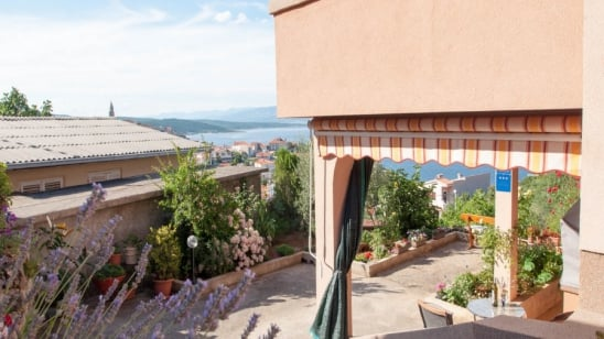 Studio Balara 2 with sea view – Vrbnik–Island Krk-Croatia
